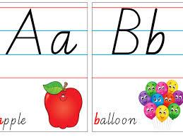 Alphabet Poster Cards