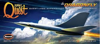 Moebius 946 The Dragonfly Jonny Quest Supersonic Suborbital | Mercado Livre