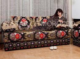 moroccan living room furniture. extravaganza black moroccan sofa loading zoom living room furniture i