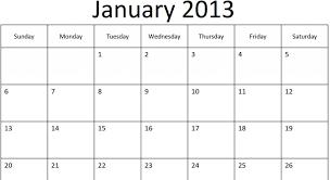 printable year calendar 2013 blank january calendar c ile web e hükmedin