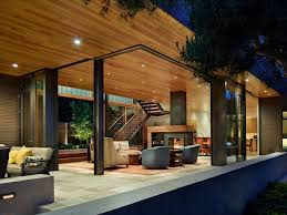 modern home architecture interior. Wonderful Interior Courtyard House By DeForest Architects Interior With Modern Home Architecture S