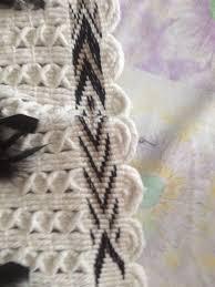 Flax And Wool Designs Korowai Woven By Niece Te Hemoata Henare Flax Weaving