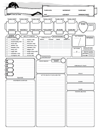 5e Backgrounds Chart 5e Character Creator Flowchart Done Dnd 10946974487636 5e