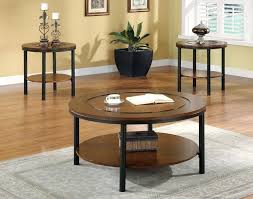 coffee table with matching side tables innovative small dark wood side table round dark wood coffee and end table sets round glass coffee table with side