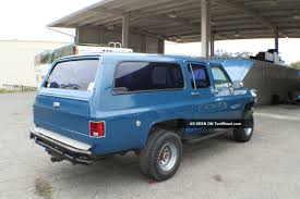 1978 Chevrolet C10 Suburban Custom Paint, Wheels, Tires, Dual ...