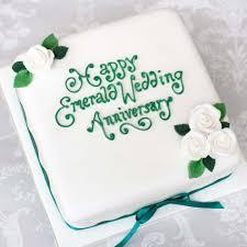 Anniversary Cakesemerald Weddingedinburghglasgow