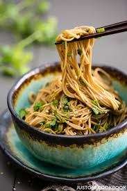 easy soba noodle salad in a bowl perfect summer noodle dish