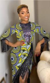 Ghanaian Ankara Designs Ghanaian Fashion Ankara Dress African Print Dress Ankara