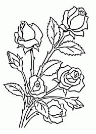 nice roses coloring page for kids flower coloring pages printables free rose coloring pages coloring pages of rose flowers printables