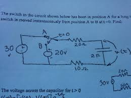 homework and exercises how long does it take for a capacitor to enter image description here