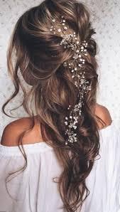Coiffure Mariage Cheveux Détachés Mi Longs