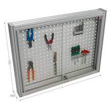 perforated tool holder panel