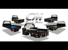 CM TRUCK BEDS TOOL BOXES UTILITY & SERVICE BED promotional video ...