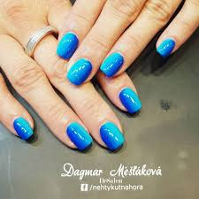 Nehtykutnahora Dagmar Měšťáková Modre Ombre Gelovky