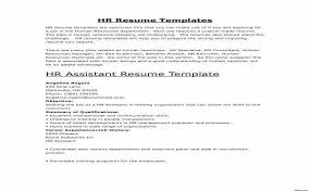 Hr Skills For Resume Luxury Resume Pdf Free Resume Format Examples