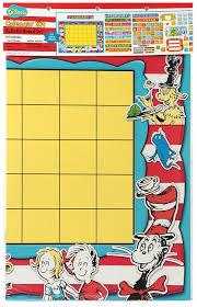 dr seuss calendar bulletin board sets 847695 dr seuss calendar by eureka com