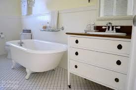 a dresser into a vanity tutorial