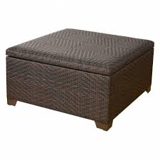 fullerton wicker storage coffee table fresh outdoor tables ideas intended for