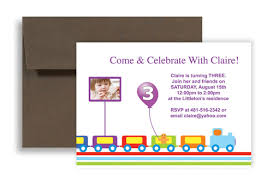 Word Template For Birthday Invitation Running Train Balloon Microsoft Word Birthday Invitation 7x5