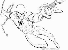 Kleurplaten Kleurplaten Spiderman Kleurplatenkleurplaatnl