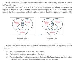 Venn Diagram Problem Solving Solved Use Venn Diagrams To Answer The Given Questions See E