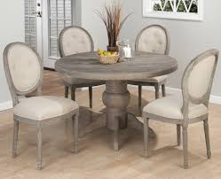 grey round dining table ideas
