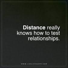 Unknown Quotes About Life Simple Distance Really Knows How To Test LOVE Pinterest Distance