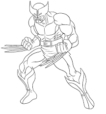 Small Picture Wolverine Coloring Pages Lego Wolverine Coloring Pagesjpg Page