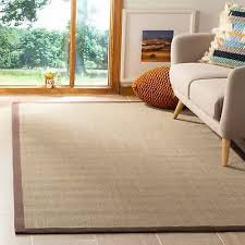 safavieh natural fiber sage brown sisal rug 9 x 12