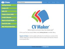 cv maker platinum by individual software inc cv maker platinum