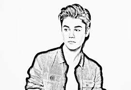 Small Picture Justin Bieber Coloring Page Miakenasnet