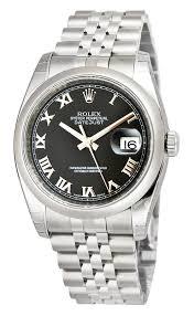 rolex watches watch watchdog rolex datejust black r dial jubilee bracelet mens watch 116200bkrj
