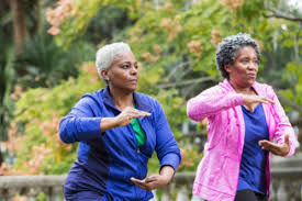 Image result for photos of old people exercising