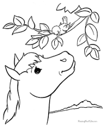 Small Picture Clever Horses Coloring Pages Printable Horse Pictures To Color