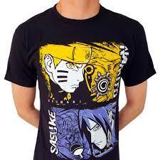 T-SHIRT - Naruto - Sasuke - OtakuNinjaHero.com