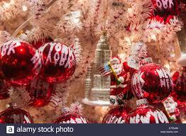 New York Souvenir Christbaumschmuck Auf Ein Weihnachtsbaum