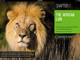 in search of the african lion for ibooks