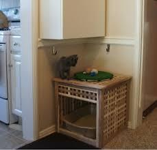 litter box furniture cat enclosed covered. View Larger. Enclosed Cat Litter Box Furniture Covered U