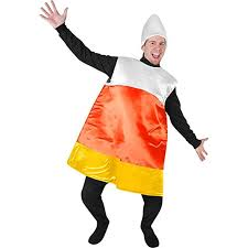 halloween candy corn costume. Fine Candy Adultu0027s Candy Corn Halloween Costume Size Standard  And Amazoncom