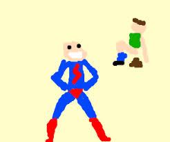 superman gets off to watching men poop drawing by reuben malcolm superman gets off to watching men poop