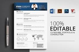 Modern Contemporary Resume Cover Letter Portfolio Cv Resume Cover Letter Portfolio Creativew Resume Profile