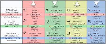 Salt Chart Chemistry Cell Tissue Salts Universal Truth School