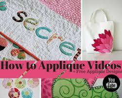29 How to Applique Videos & Free Applique Designs | FaveQuilts.com & 29 How to Applique Videos & Free Applique Designs Adamdwight.com