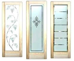 exterior door with frosted glass double pantry doors interior barn etched oval front colors exter half glass front door shades oval