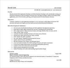 Elegant Net Developer Resume Resume Templates Delectable Net Developer Resume