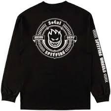 spitfire wheels clothing. spitfire wheels \u003cbr\u003e x socal skateshop arson department custom long sleeve t- clothing