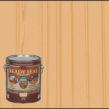 Ready Seal Pre Tinted Semi Transparent Exterior Wood Stain And Sealer 1 Gallon In The Exterior Stains Department At Lowes Com
