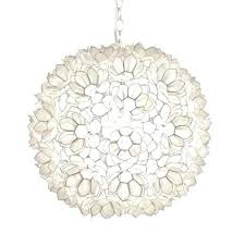 capiz shell chandelier shell fl pendant chandelier large by worlds away refer to shell chandelier capiz