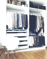 how to organize a small bedroom without closet clothes