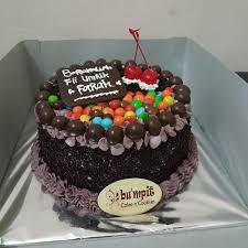 Jual Birthday Cake Cake Coklat Cake Ulang Tahun Kab Bogor